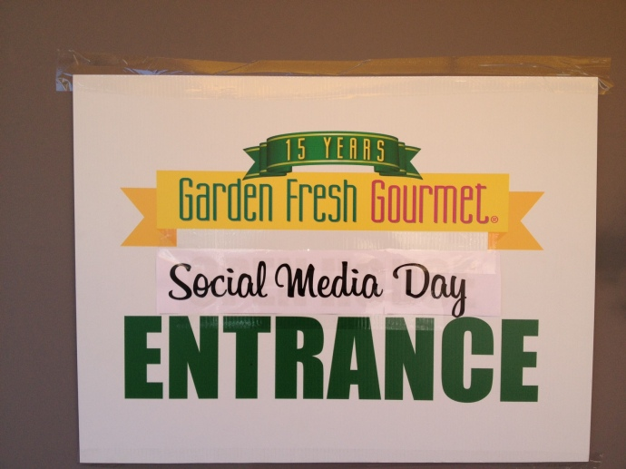 Social Media Day at Garden Fresh Gourmet