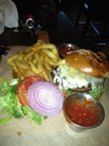 Crystal Tavern Kobe burger