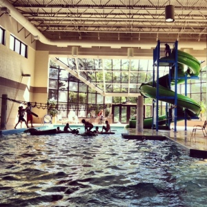 Grand Traverse Resort pool slide