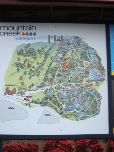 Mountain Creek waterpark map