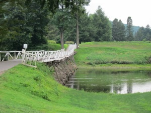 Shawnee Inn Golf bridge