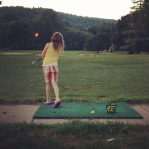 Driving range kids