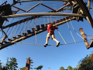 Pirates Cove Ropes Course