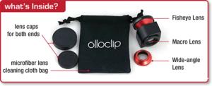 Olloclip lenses
