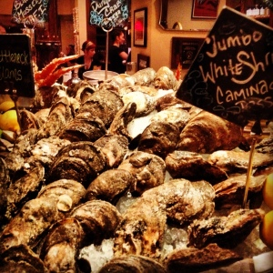 Oyster bar at Luke Restaurant New Orleans