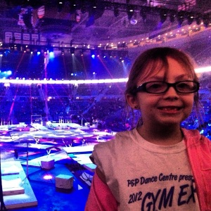 Olympic Gymnasts at The Palace of Auburn Hills