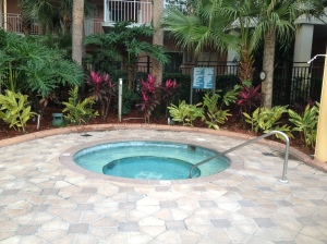 Embassy Suites Lake Buena Vista Hottub