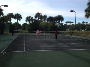 Embassy Suites Lake Buena Vista tennis
