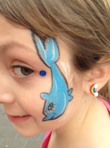 Legoland Face Painting