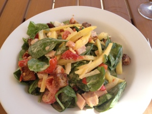 Marriott Tampa Waterside salad