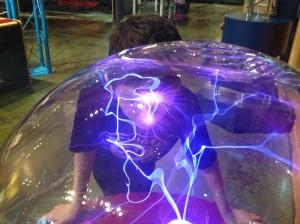 Michigan Science Center electricity