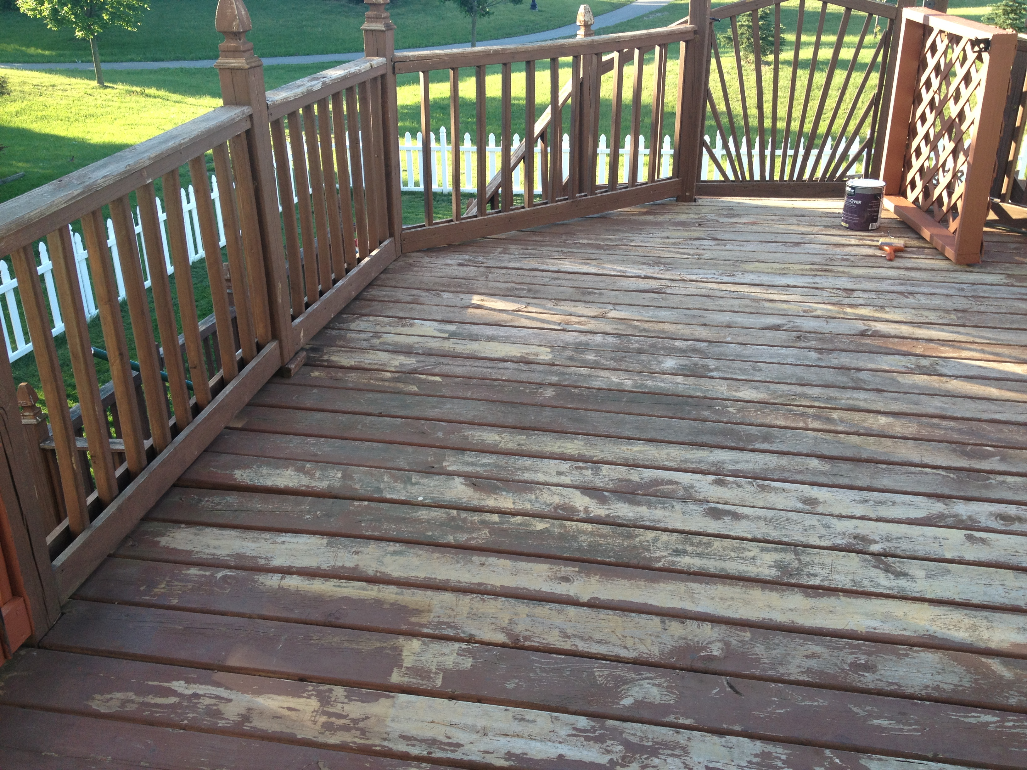 Behr deckover tonja 39 s travels - Exterior wood paint colors ideas ...