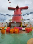 The sports square on the Carnival Breeze