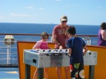 Playing on the Carnival Breeze
