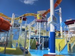 Carnival Breeze waterworks