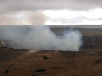 Steam from Hawaii volcano