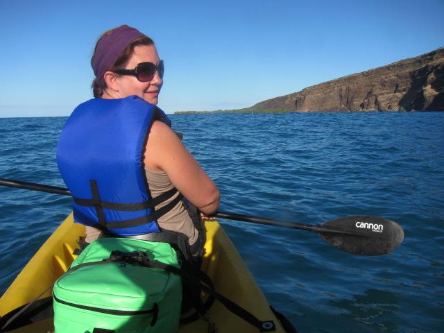 Kayaking and snorkel tour with Kona Boys