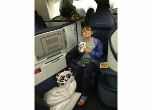Delta business class fold flat seats