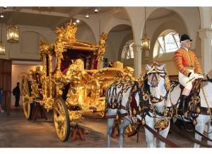Carriage at Royal Mews