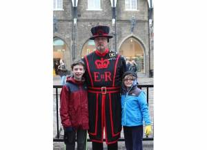 London Tower beefeater