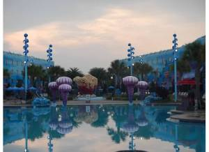 Disney's Art of Animation Mermaid pool