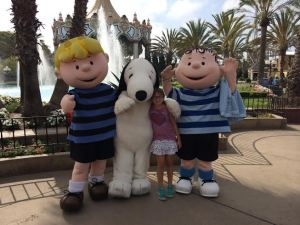Snoopy at Great America