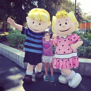 Linus and Sally at Great America