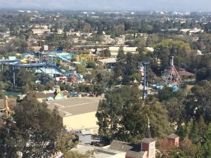 Aerial view from Great America